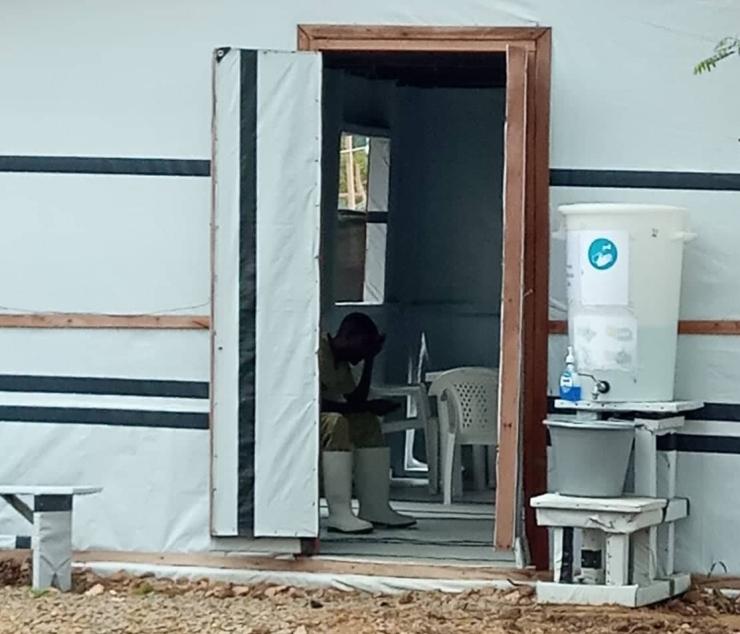 Ebola senter